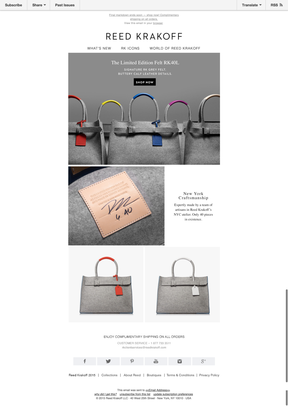 Made In NYC  The Limited Edition Felt RK40L   Reed Krakoff.png