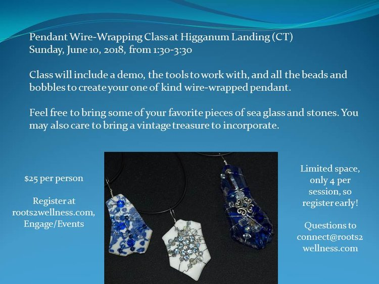 Pendant Wire-Wrapping Class — Janet Verney