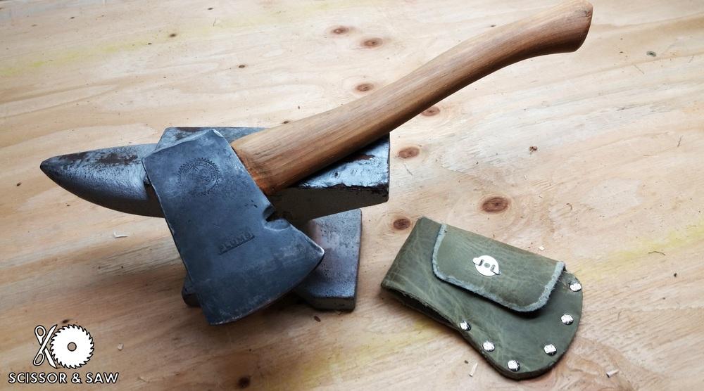 Bsa Plumb Hatchet Restoration Scissor Saw
