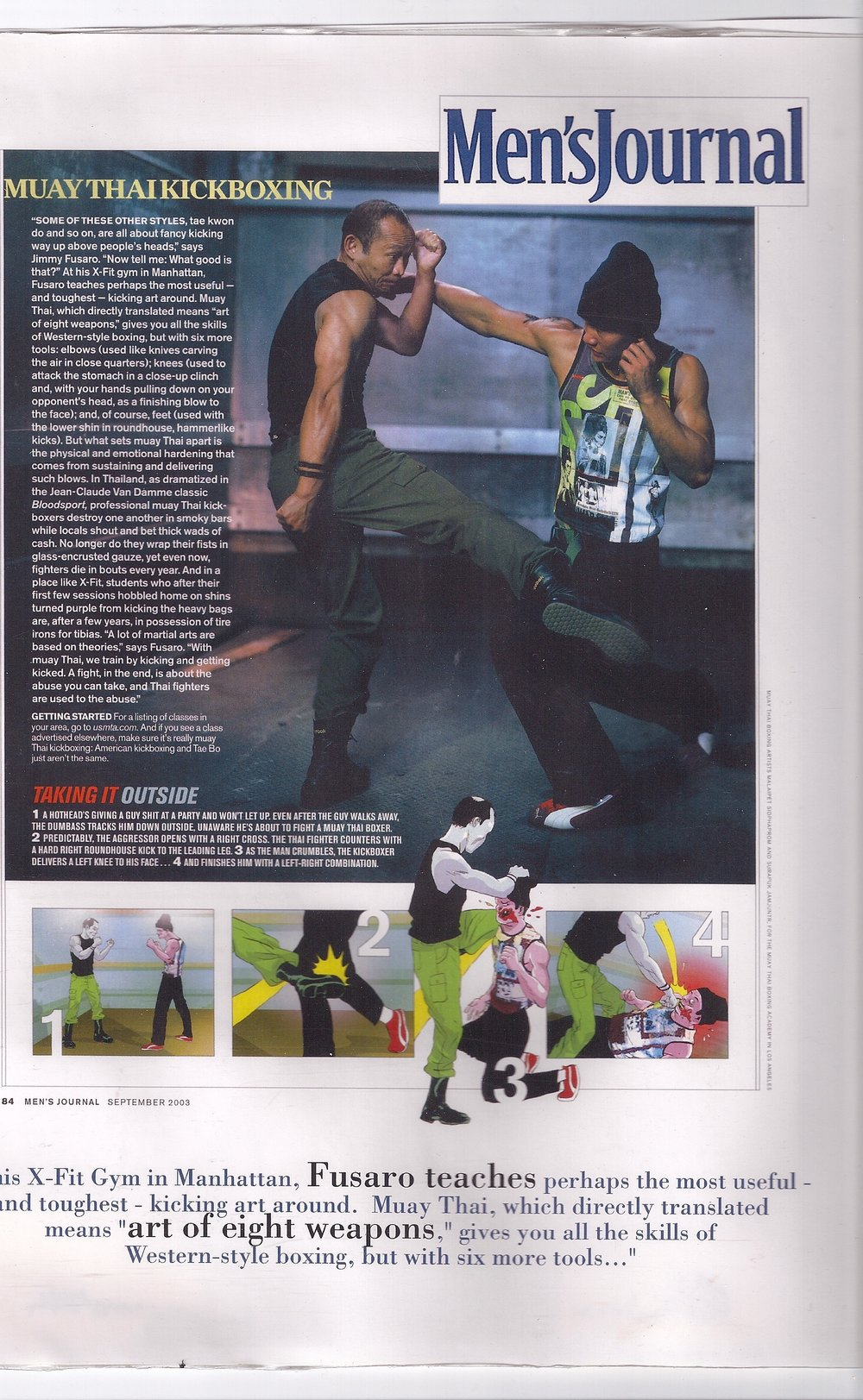 X-FIT in Mens journal
