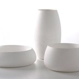 Simple White Pots