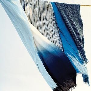 Indigo-dyed textiles