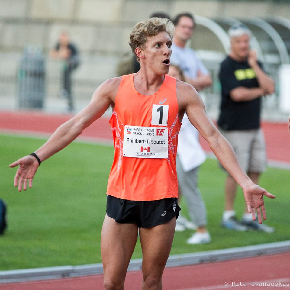 Charles Philibert-Thiboutot appreciates crowd   photo by  Rita Ivanauskas