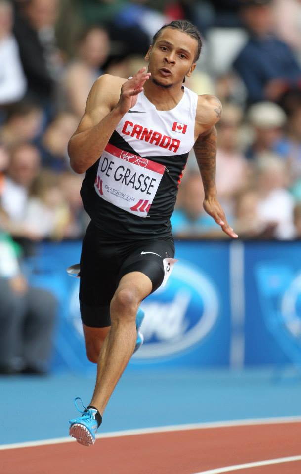 Andre De Grasse   photo by Claus Andersen