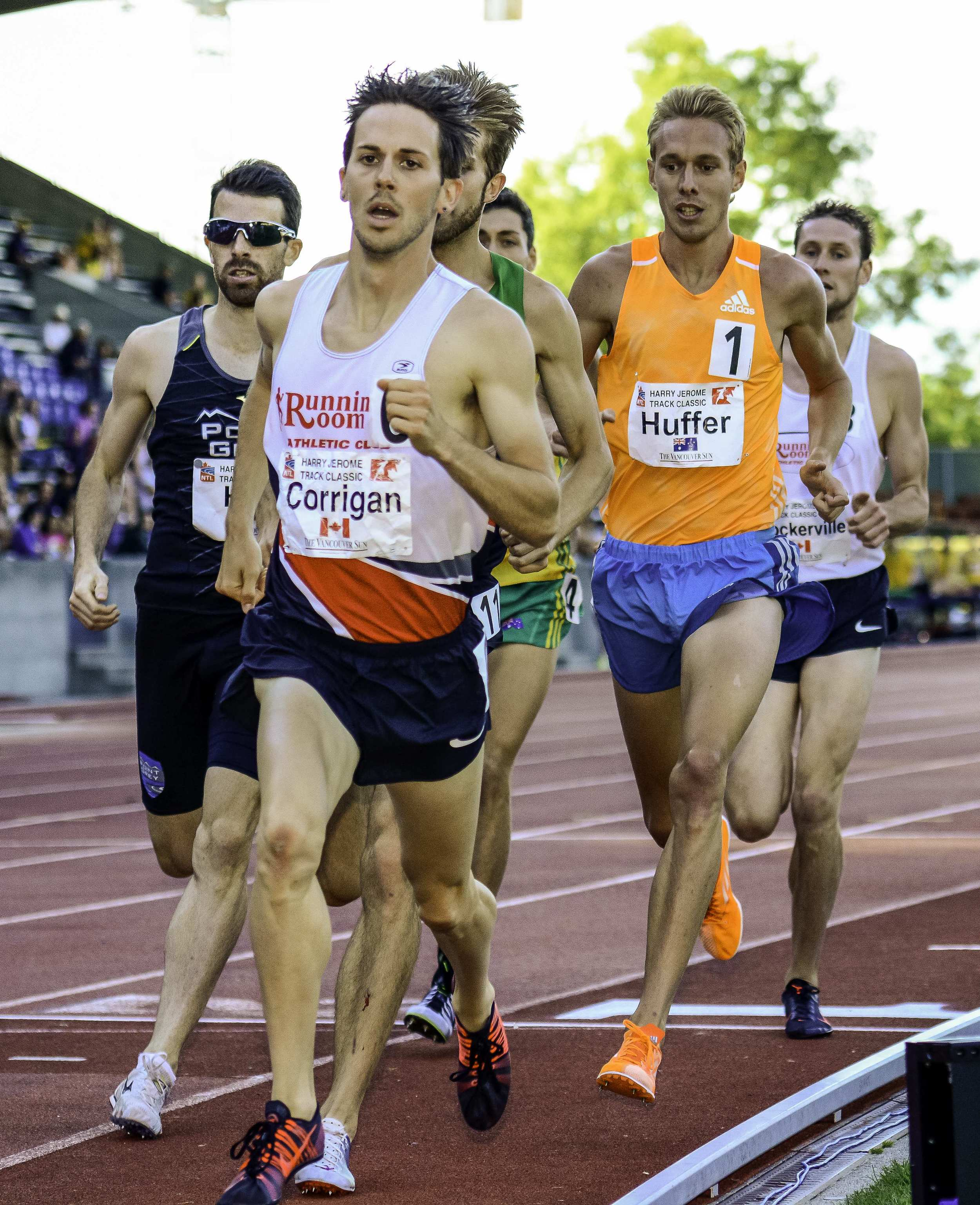 National 1500m photo by Brian Cliff