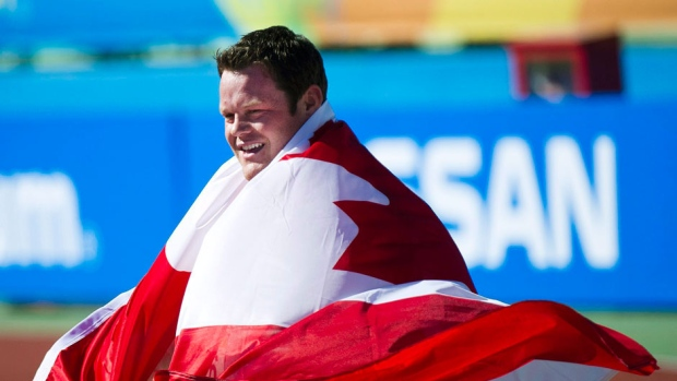 dylan armstrong photo by Nathan Denette, Canadian Press