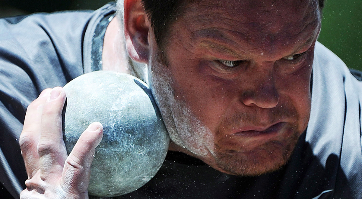 Dylan Armstrong  photo THE CANADIAN PRESS/Sean Kilpatrick