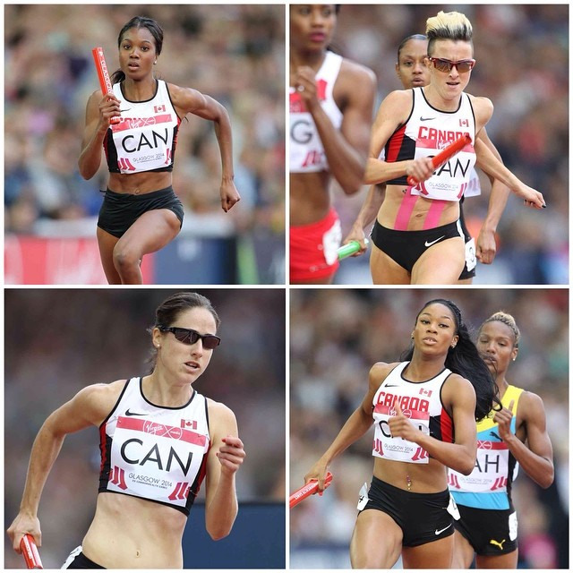 4x400m women by Claus Andersen
