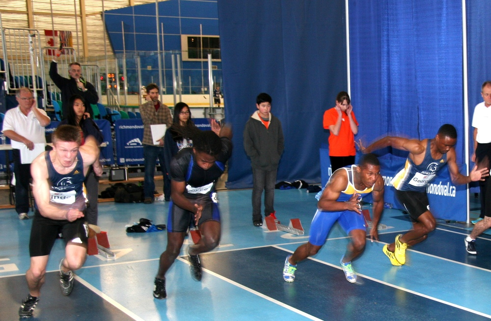 2014 60m final at Jerome Indoor Games