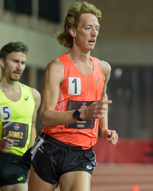 Evan Dunfee ranks #4 on world indoor 5000m race walk