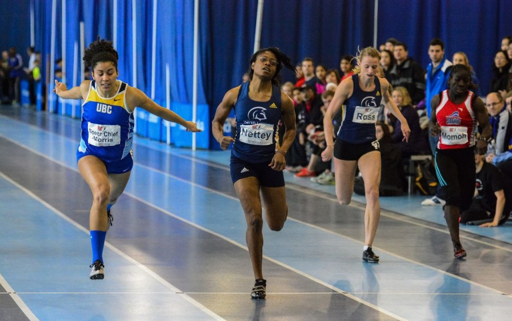 Joy Spear Chief-Morris wins 60m in new record