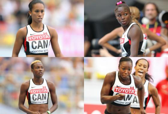 4x100m Team Canada