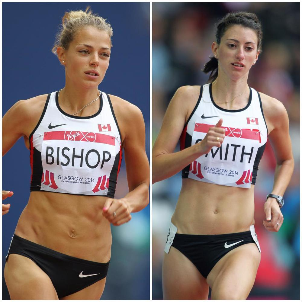 2012 Olympians Melissa Bishop and Jessica Smith have both run under 2 minutes and may need that to regain their spots on Team Canada