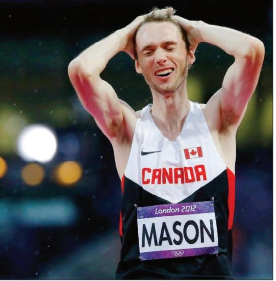 Mike Mason, Olympian