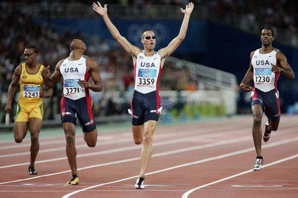 Jeremy Wariner, Olympic Champion