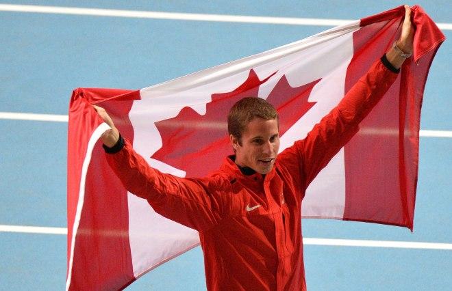 Derek Drouin, World Champion high jump