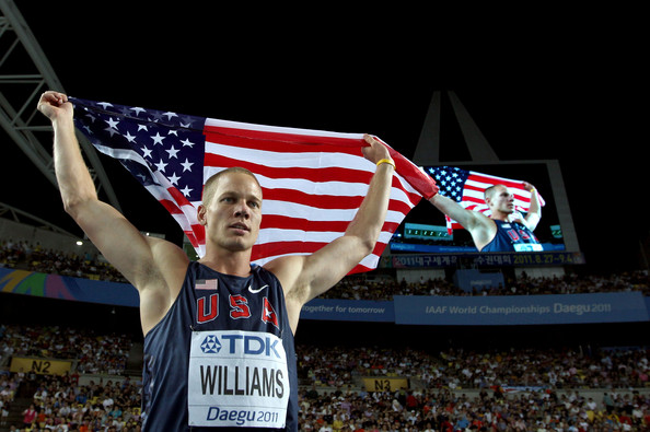 World Champion Jesse Williams