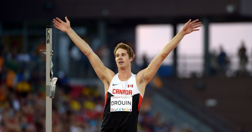 Derek Drouin, 2015 World Champion