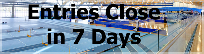 Further information on  the 7th Harry Jerome Indoor Games presented by TELUS is available on this website here to enter via trackiereg Clubs need to be aware entries close on January 27th.