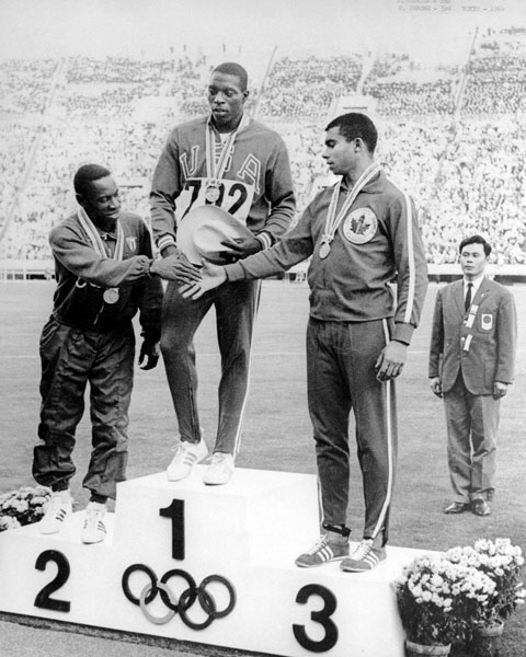 Harry Jerome's Olympic Bronze Medal 1964