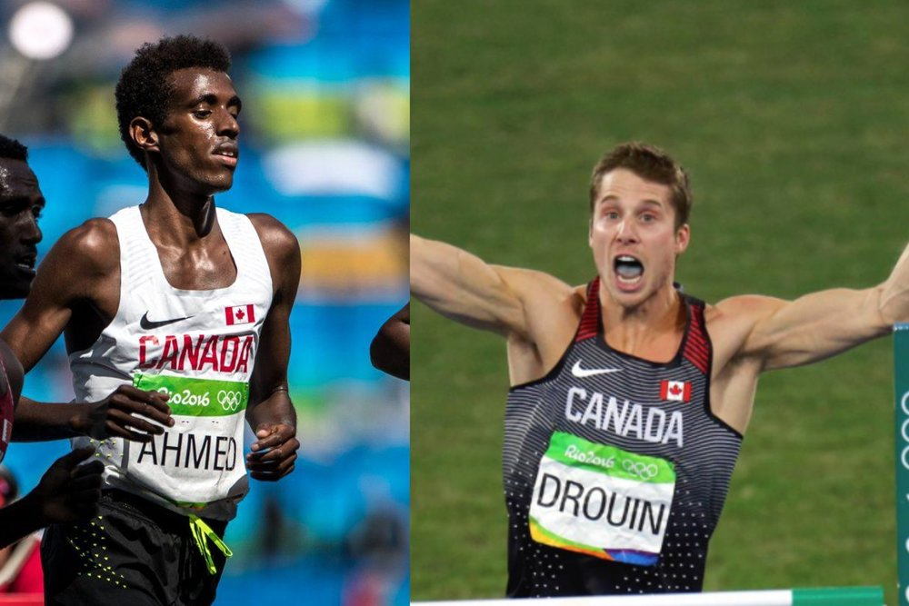 Mo Ahmed and Derek Drouin top world indoor list