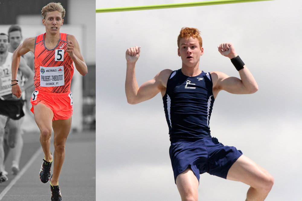 Charles Philibert-Thiboutot and Shawn Barber