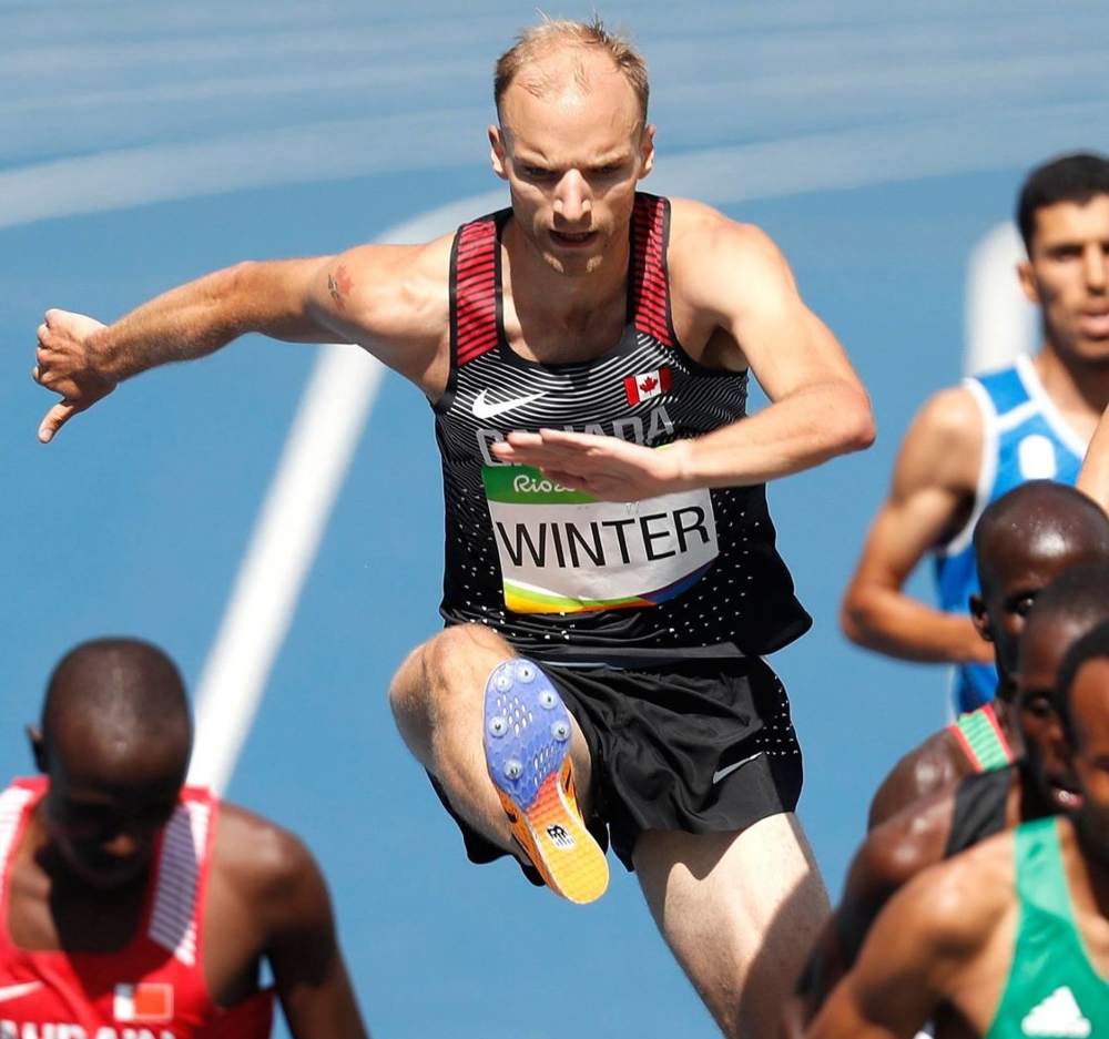 Chris Winter, Canadian Olympian is now Technical Manager for BC Athletics
