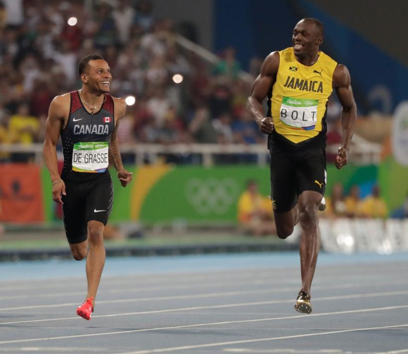 Andre De Grasse, Canada's athlete of the year 2016          photo credit: Jason Ransom