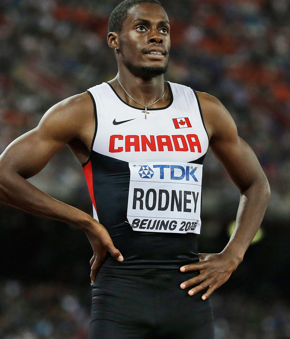Brendon Rodney had run the 4x100m and the 4x200m relay teams for Canada A in Florida but surpassed Aaron Brown's 200m time for this year with 20.45 against a 1.0 m/sec headwind.  He will be vital part of Canada's team at the World Relays Championship in Nassau in just over one week.