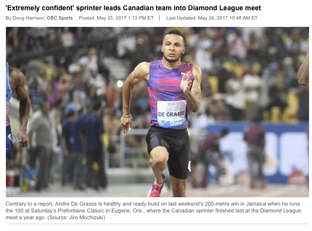 Read full story here  by Doug Harrison CBC Sports