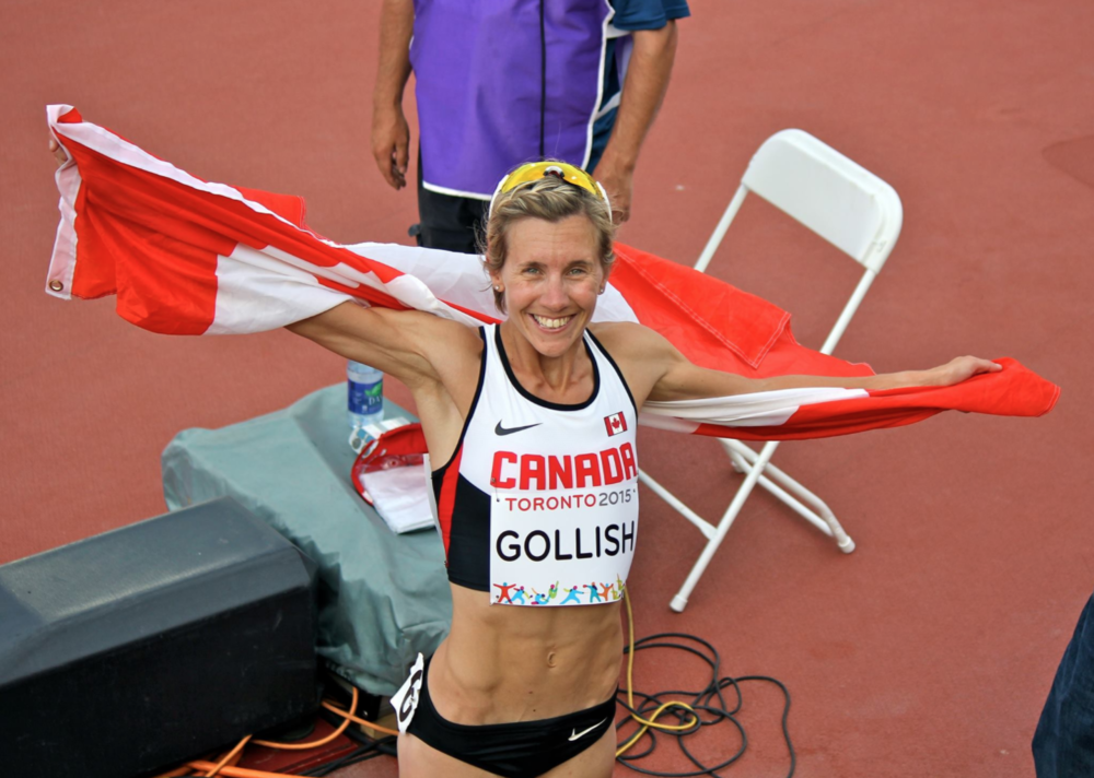 Sasha Gollish, 2015 bronze medalist at Toronto Pan American Games