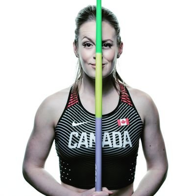 Liz Gleadle is the Canadian record holder in the javelin