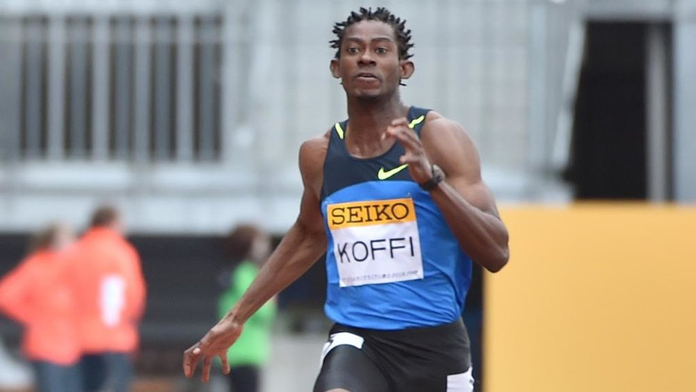Wilfred Kofi, African sprint champion