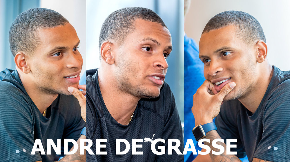 Andre De Grasse photo credit: Brian Cliff