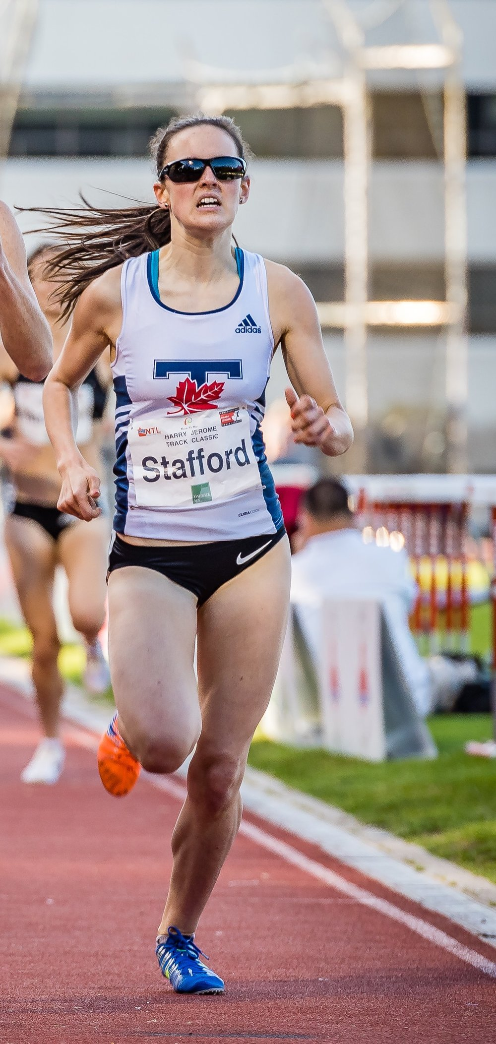 Gabriella Stafford set for major improvement                 photo by Brian Cliff