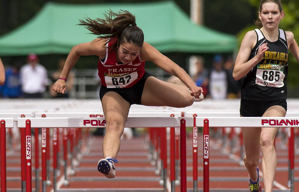 Katarina Vlahovic at BC High School Championships