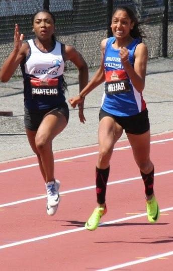 Jasneet Nijjar at National Championships in Ottawa