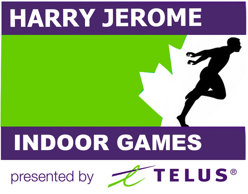 8th Annual Harry Jerome Indoor Games presented by TELUS will be at the Richmond Olympic Oval on Saturday, February 3rd   Entry information  here