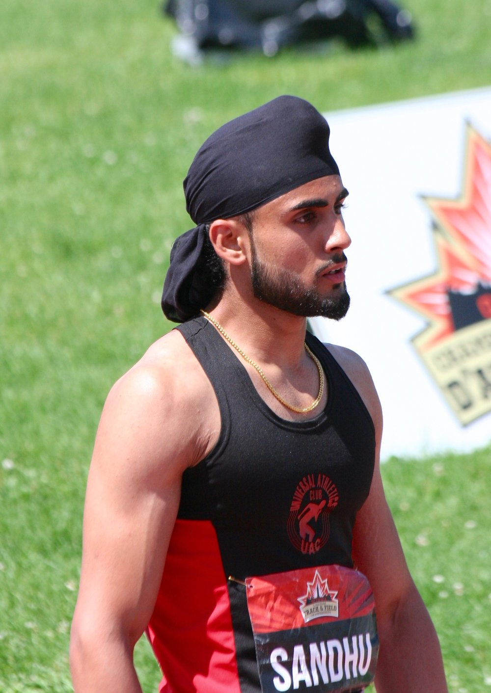 Amar Sandhu  in Ottawa's National Championship in 2017