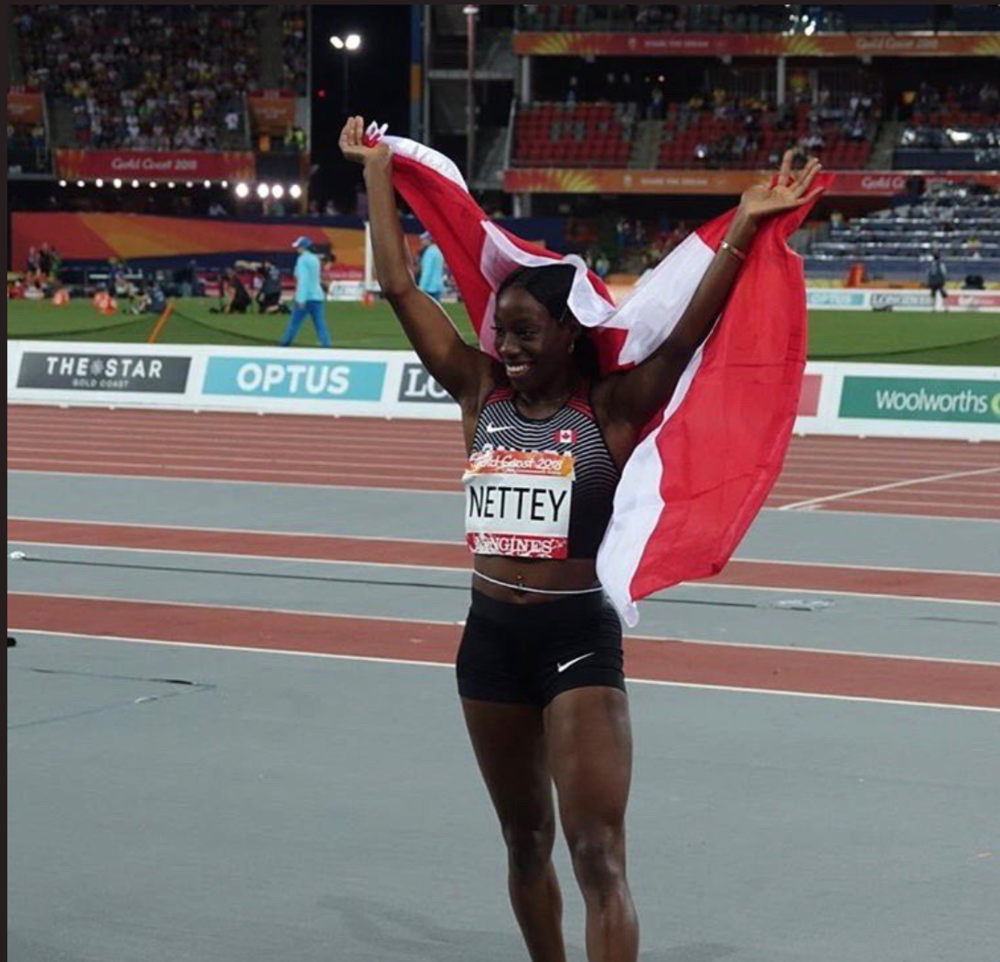 Christabel Nettey takes gold medal at Commonwealth Games