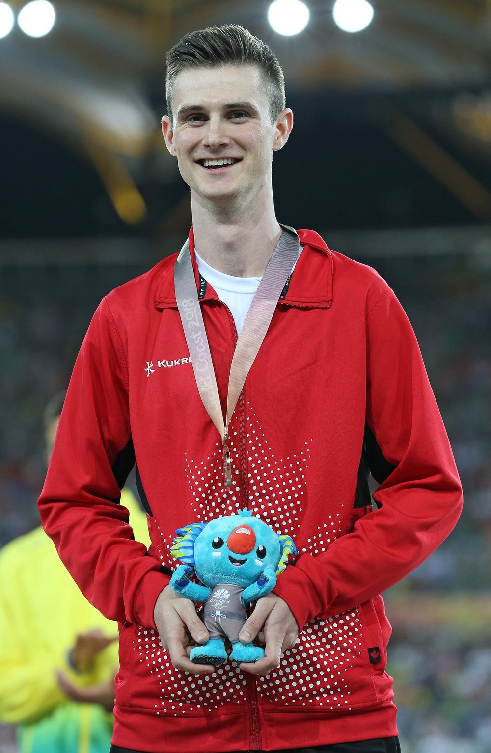 Surrey's Django Lovett chose a perfect time to set a personal best in the high jump with his 2.30m clearance. His bronze medal performance is only 1 centimeter from the Jerome Classic meet record of 2.31 set by World Champion, Jesse Williams of the USA.