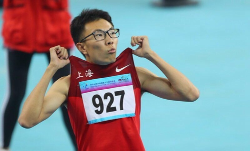 GUO Zhongze sets new record for 400m