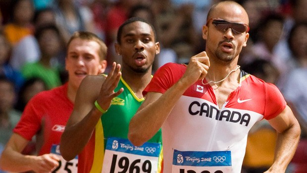 Tyler Christopher, now retired, holds Canadian record of 44.44 in 400m now 13 years old