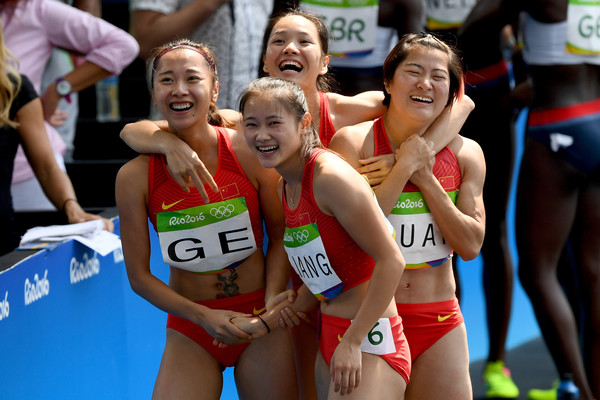 Team China 4x100n quartet