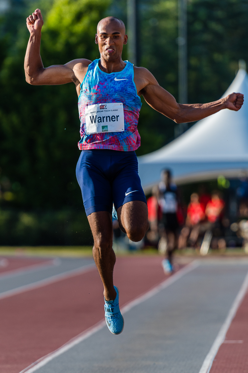 Damian Warner at 2917 Jerome Classic   photo by Brian Cliff