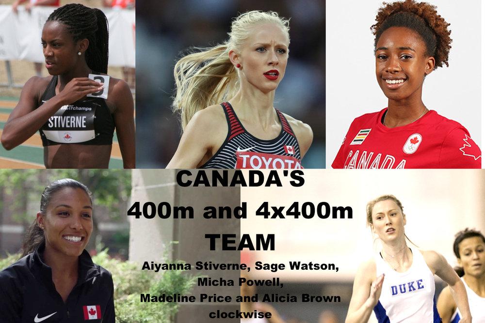 Canada's 4x400m team women.jpg