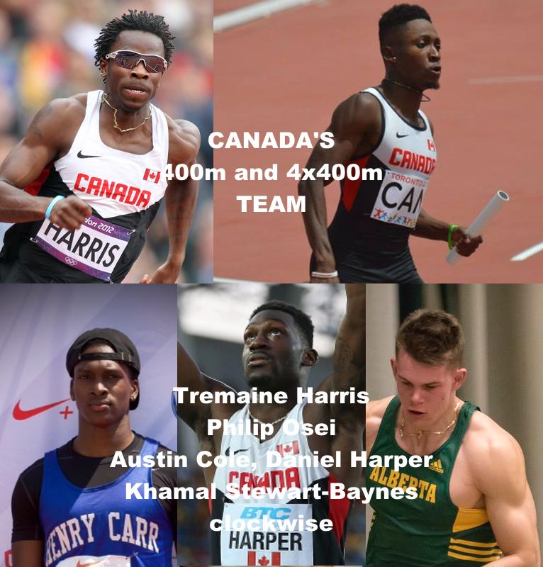 Canada's 4x400m team Men.jpg