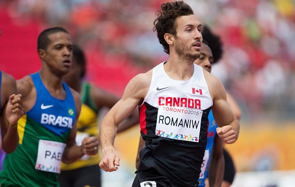 Anthony Romaniw at PanAms 2015