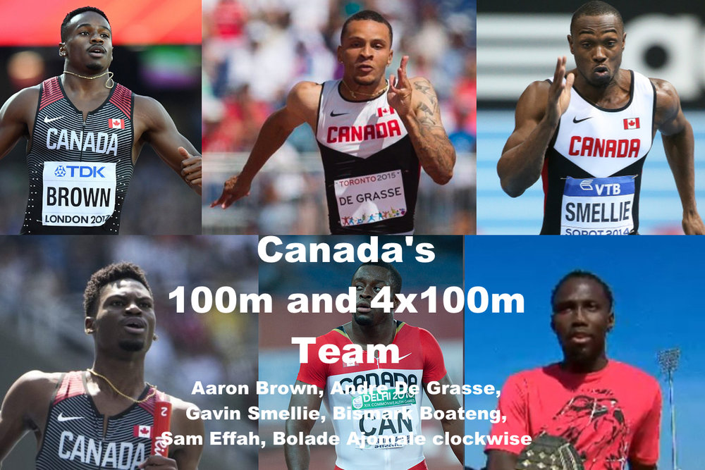 Canada's 100m and 4x100m team.jpg