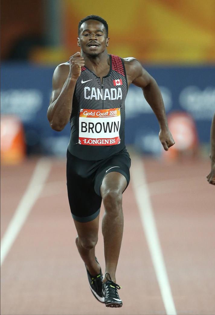 Aaron Kingsley Brown  photo:Athletics Canada